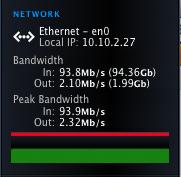 94Mbps on a 100 Mbps link