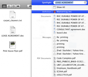 Spotlight Fails Again to Find File Shown in Finder Window